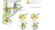 Σχέδιο 14: Αναβάθμιση της περιοχής από το Λύκειο του Αριστοτέλη μέχρι το Στάδιο.  Ανισόπεδες ρυθμίσεις με υπογειοποίηση ροής τροχοφόρων ή πεζών.