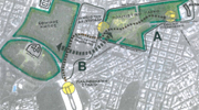 Σχέδιο 1: Περιβαλλοντική και κυκλοφοριακή αναβάθμιση της περιοχής Hilton - Ριζάρη.
