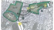 Σχέδιο 12: Αναβάθμιση της περιοχής από το Λύκειο του Αριστοτέλη μέχρι το Στάδιο. Λειτουργική σύνδεση του Πολιτιστικού Πάρκου με τον Εθνικό Κήπο.