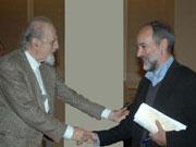 Με τον Πρόεδρο ΤΕΕ Γιάννη Αλαβάνο