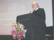 Ο Θεοδόσης Τάσιος ομιλητής  στο Μουσείο Γουλανδρή το 2008