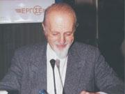 Ο Θεοδόσης Τάσιος ομιλητής σε Σεμινάριο στη Θεσσαλονίκη το 2001