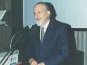 Ο Θεοδόσης Τάσιος ομιλητής σε Σεμινάριο το 1995