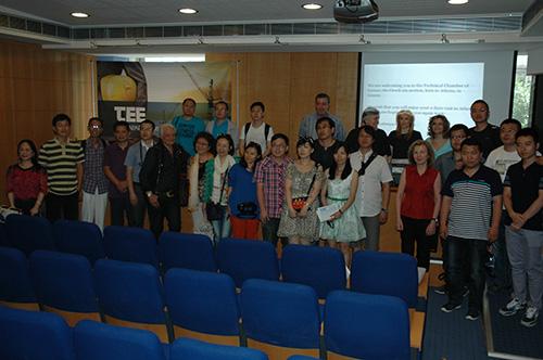 Συνάντηση Κινέζων και Ελλήνων Αρχιτεκτόνων